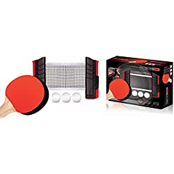 Style Asia Retractable Table Top Tennis Game Set