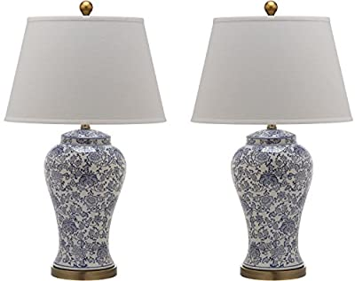 Safavieh Lighting Collection Spring Multi Floral 29-inch Table Lamp (Set of 2)