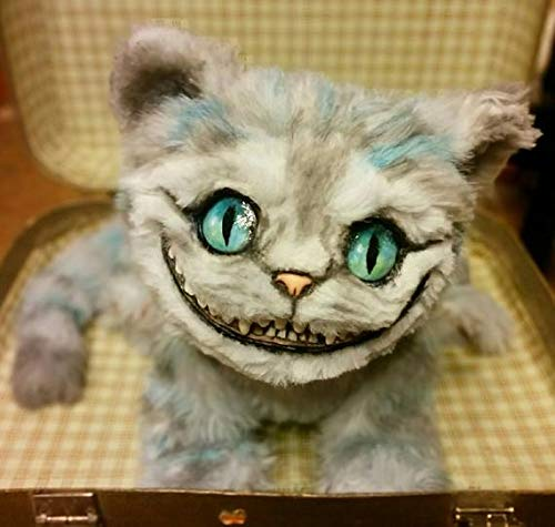 Alice in Wonderland Custom Made to Order Fluffy Cheshire Cat 14 Inches -
