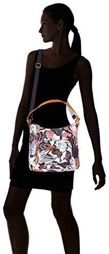 Oilily Botanic Pop M Shoulder Bag Charcoal