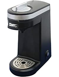 Mega Cocina Single Serve Compact K-Cup Brewer, Black Key Pieces