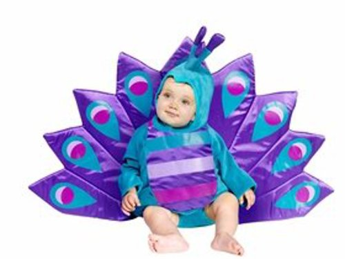 Baby Peacock Costume Size 6-18 month