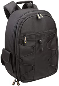 AmazonBasics Backpack for SLR/DSLR Cameras and Accessories - Black by AmazonBasics