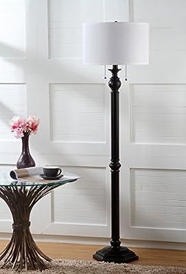 Safavieh Lighting Collection Jessie Oil-Rubbed Bronze 58.75-inch Floor Lamp