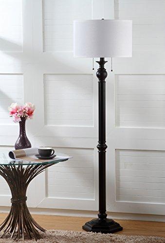 Collection Bronze Floor Lamp - Safavieh Lighting Collection Jessie Oil-Rubbed Bronze 58.75-inch Floor Lamp