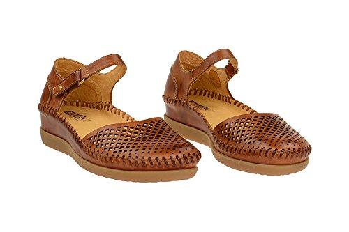 Pikolinos W8k-1561 Brandy - Sandalias de vestir de Piel Lisa para mujer marrón