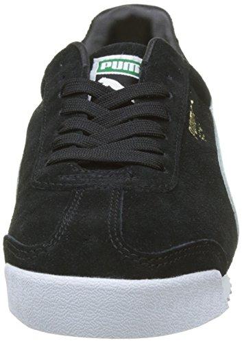 Sneakers Da Uomo In Pelle Scamosciata Nere