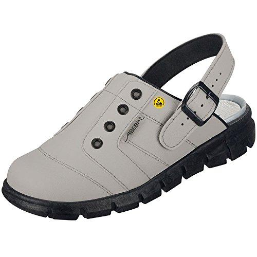 Abeba 37365-37 Dynamic Chaussures sabot ESD Taille 37 Gris/Noir