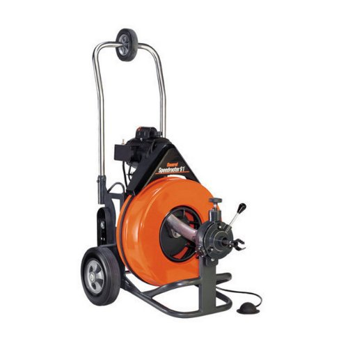 General Pipe Cleaners PS92-E Speedrooter 92 Pipe Cleaner Floor Machine 1/2 Hp Motor