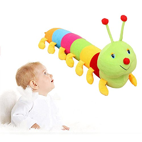 Colorful Caterpillar/Snail Insect Plush Inchworm Soft Lovely Toys Stuffed Animals Doll for Caterpillar Juguetes Hold Pillow Toys