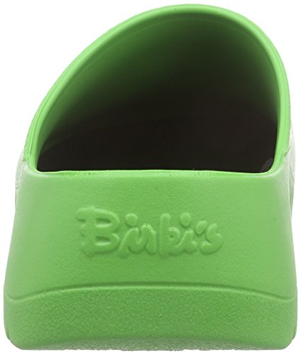 Birki Unisex Super Birki Zoccolo, Bianco, 39 M Eu (8 M Us Womens / 6 M Us Mens) Mela Verde