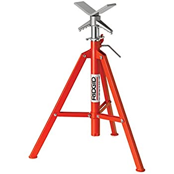 Ridgid 22168 Model Vf 99 V Head High Folding Pipe Stand