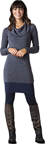 Toad&Co Women's Uptown Sweater Dress, Deep Navy, XL (Toad Dress Horny)