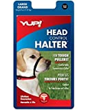 YUP! Pet Head Halter, Large, Black
