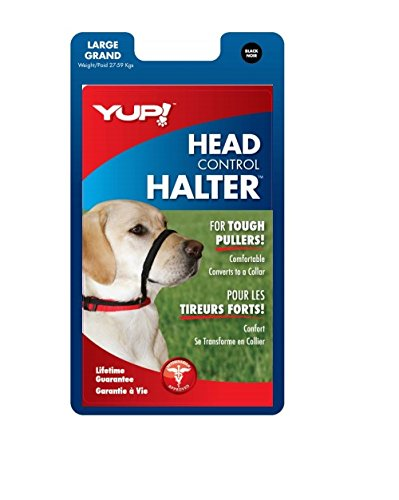 YUP Head Halter Large Black product image