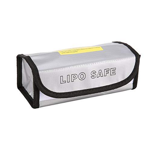 Windwinevine Bolsa de batería LiPo ignífuga Caja de Carga de Guardia de Seguridad LiPo Bolsa de Bolsa de Saco Incombustible...