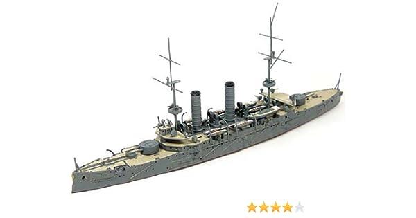 1/700 japonesa crucero de la marina de guerra de primera clase Asama: Amazon.es: Juguetes y juegos