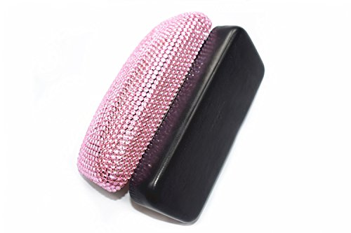 Fashion Pink Bling Crystal Travel Glasses Case Cute Rhinestone Gift Eyeglasses Box by Bling Dynasty (Image #4)