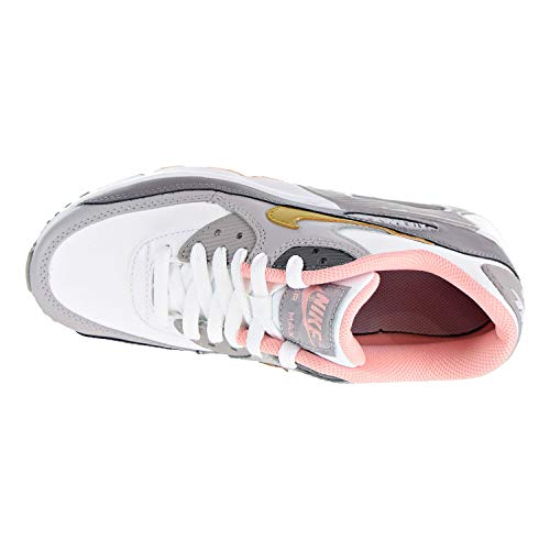 Max Gold 36 90 Air EU Formateurs Youth Cuir GS Metallic LTR Nike UHE8qww