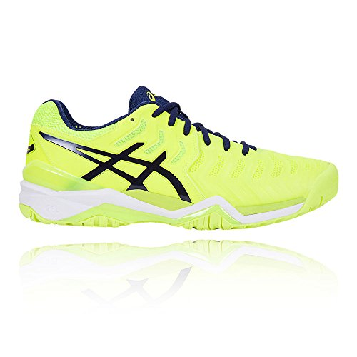 Asics Herren Gel-Resolution 7 Turnschuhe Yellow