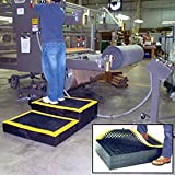 Structural Plastics Add-A-Level Modular Work Platform - 66X24'' - Add-On Platform