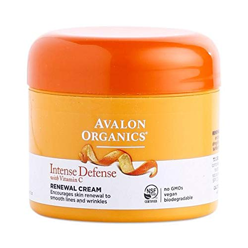 Avalon Organics Vitamin C Renewal Creme, 2 - C Avalon Vitality Serum Organics Vitamin Facial