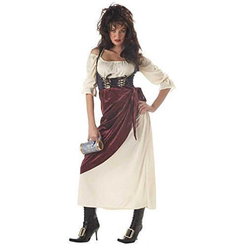 Renaissance Wench Costume And Tavern Medieval Costumes (Adult Renaissance Tavern Wench Costume -)