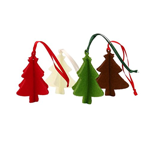 Christmas decorations,IEason 10PC Christmas Tree Ornament Hanging Pendant Embellishment (Multicolor) -