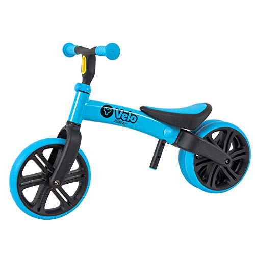 Yvolution Y Velo Junior Toddler Bike | No-Pedal Balance Bike | Ages 18 Months to 4 Years, Blue