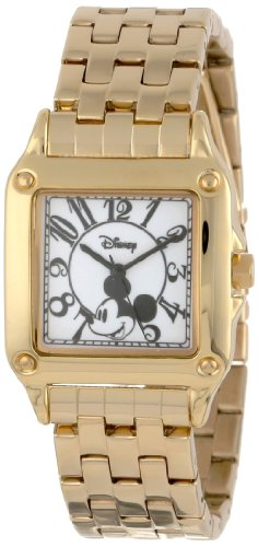 Women's W000477 Mickey Mouse Perfect Square Bracelet Watch