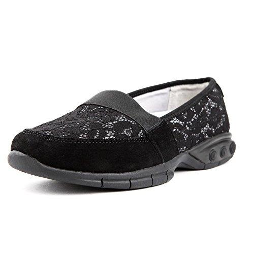 Therafit Tammy Womens Slip On Casual Shoe - Per Fascite Plantare / Dolore Al Piede Nero