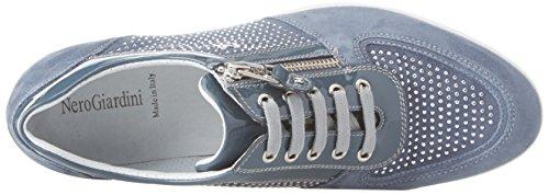 Sneaker Donna Nero P805060d Blu Giardini xBqwY8wpF