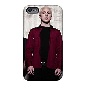 Bumper Hard Cell-phone Case For Iphone 6 (EWx7247NSJM) Allow Personal Design HD Asking Alexandria Band Pictures