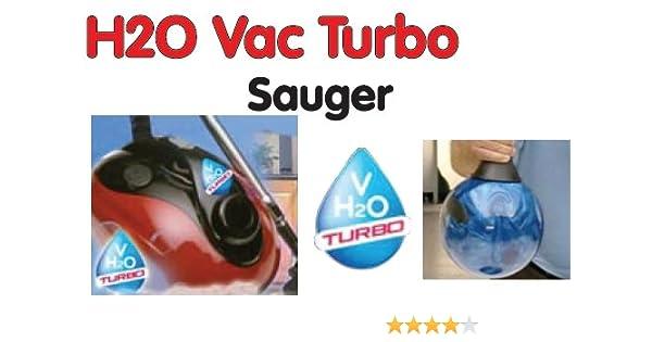 H2O Vac - Turbo - Filtro de agua aspiradora - Original alemán TV ...