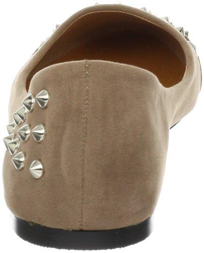Nyla Womens Marvyn Ballet Flat Taupe