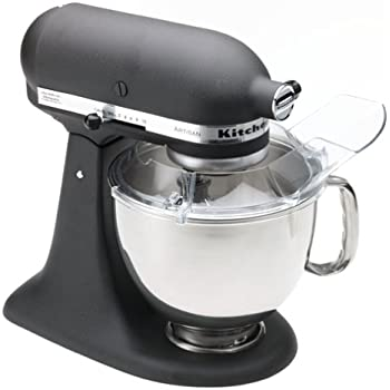 Kitchenaid Black Mixer | Amazon Com Kitchenaid Rrk150bk 5 Qt Artisan Series Stand Mixer