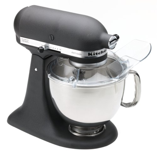 KitchenAid RRK150BK  5 Qt. Artisan Series Stand Mixer – Imperial Black (Certified Refurbished)