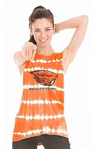 Official NCAA Oregon State University Beavers OSU Benny Beaver Women's Bamboo Muscle Tee