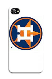ArtPopTart Iphone 4/4s Protective Case,Fashion Popular Houston Astros Designed Iphone 4/4s Hard Case/Mlb Hard Case Cover Skin for Iphone 4/4s
