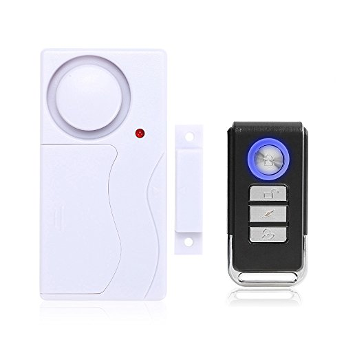 Mengshen Home Anti-theft Door and Window Motion Sensor magnetism+vibration Two in one Anti-Burglar Security Alarm System with Remote Control Motion Detector MS-M65