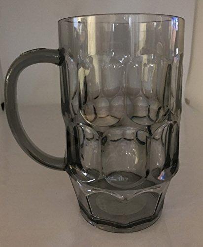 Plastic Beer Mugs, Giant 26oz. Beer Mugs Weighs MERELY 5oz.-
