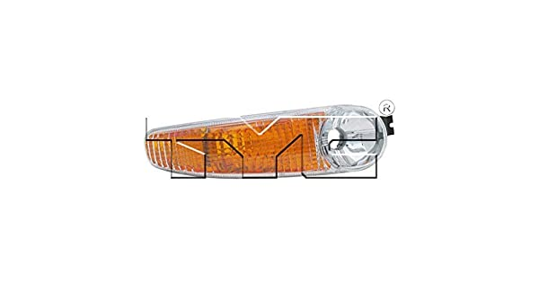 Fits 2001-2005 GMC Yukon Passenger Side Parking Light NSF Certified GM2521182 Replaces 15199555 ;includes signal//marker /& running lamps; Denali