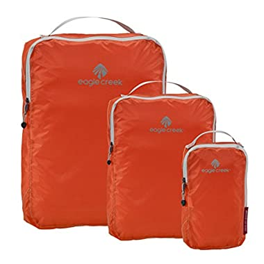 Eagle Creek Pack It Specter Cube Set , Flame Orange,  3pc Set