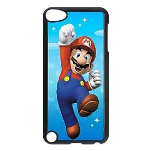 iPod Touch 5 Case Black Super Mario 001 Delicate gift JIS_336796