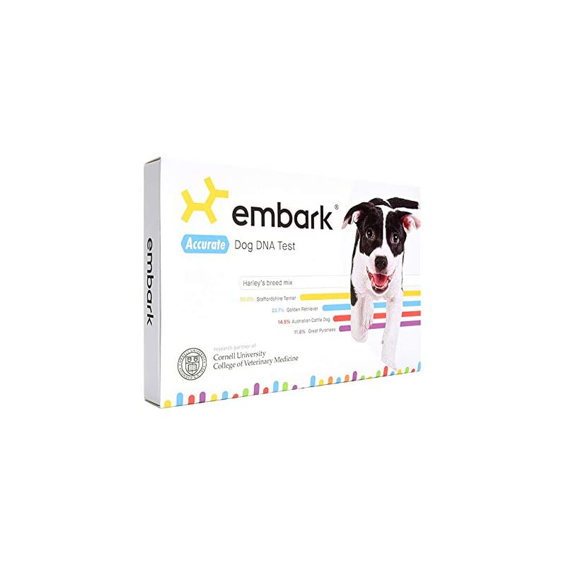 dog supplies online embark | dog dna test | breed identification | 160 health results | 200k genetic markers