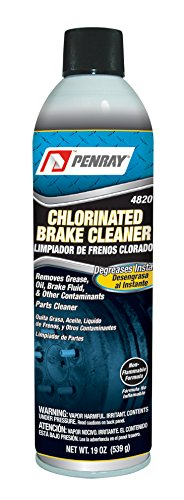 Penray 4820-12PK Chlorinated Brake Cleaner - 19-Ounce Aerosol Can, Case of 12 ()