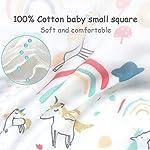 Caiery10pz Mussole Neonato/Asciugamani da bagno per bambini 30cm*30cm, extra morbidi, in mussola di cotone organico… Accessori 10pz 13
