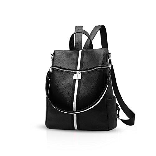 d'école dos Noir dos Classique sac 1 Femelle Vente Cuir DORIS PU NICOLE Fille chaude Noir à Sac Sac amp; à 6qUvwnf8