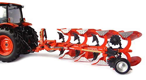 Reversible Plow - Universal Hobbies 1/32 High Detail Kubota RM2005V Reversible 4 Bottom Plow