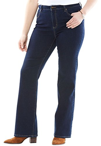 Woman Within Plus Size Tall Perfect Bootcut Jean